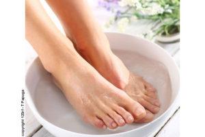 Traitement naturel de la mycose du pied