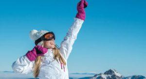 Neige, soleil et protection de la peau
