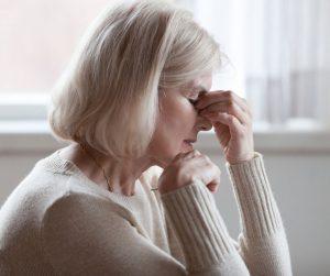 Un deuil ou un chagrin suivi d'une grande fatigue