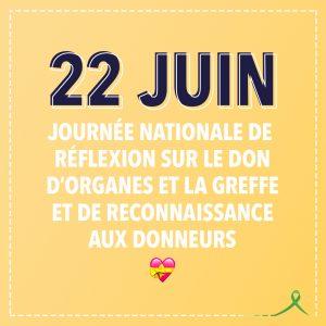 A l'occasion de la journée mondiale de réflexion sur le don d'organes et la greffe, le 22 juin, chacun est appelé à exprimer sa position à ses proches.