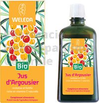 Jus d'Argousier Bio, 200ml