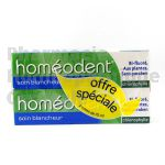 HOMEODENT BLANCHEUR, lot de 2 tubes de 75ml