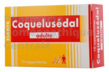 Coquelusedal Adulte suppositoires