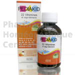 PEDIAKID 22 VITAMINES ET OLIGOELEMENTS