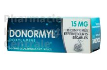 DONORMYL Effervescent sécable, 15 mg