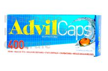 Advilcaps 400 mg, 14 capsules molles