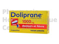 DOLIPRANE 1000 mg suppositoires