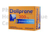 DOLIPRANE 200 mg sachets pour solution buvable