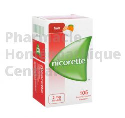 NICORETTE FRUIT 2mg sans sucre