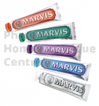 Dentifrice Marvis, tube 25 ou 75 ml