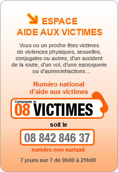 Aides aux victimes de violences